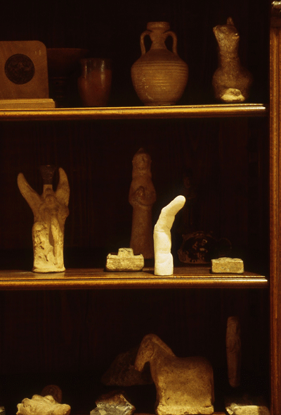 STUART BRISLEY, The Collection of Ordure, Stakhanov's Finger, 2002, Freud Museum London