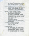 STUART BRISLEY, Celebration for Institutional Consumption – Script, 1970, Page 3