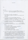 STUART BRISLEY, An APG Draft Contract, c.1970, Page 1