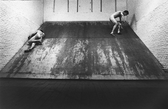 STUART BRISLEY, Between, 1979, De Appel, Amsterdam