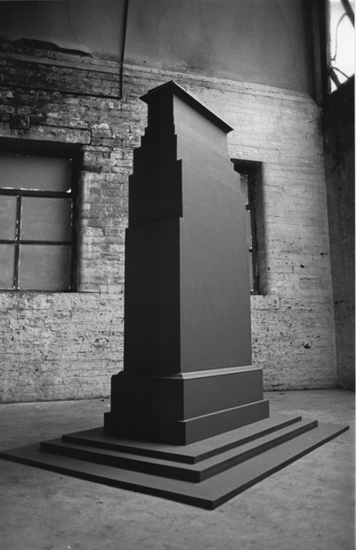 STUART BRISLEY, The Cenotaph Project, 1987-91, Installation (with Maya Balcioglu)