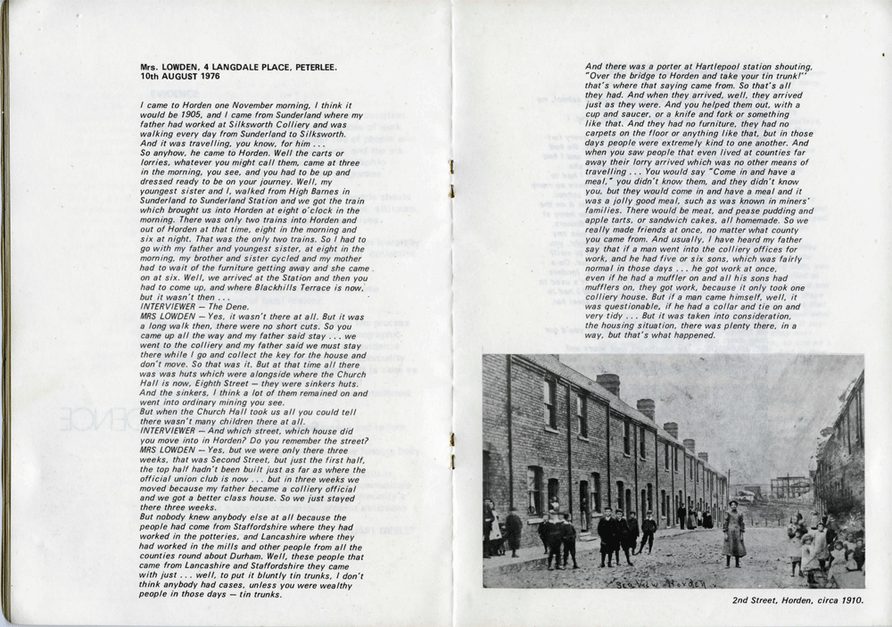 STUART BRISLEY, Artist Project Peterlee: First Peterlee Report, 1976, Pages 14-15