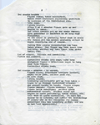STUART BRISLEY, Celebration for Institutional Consumption – Script, 1970, Page 2