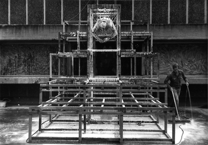 STUART BRISLEY, Measurement and Division, 1977, Hayward Gallery, London